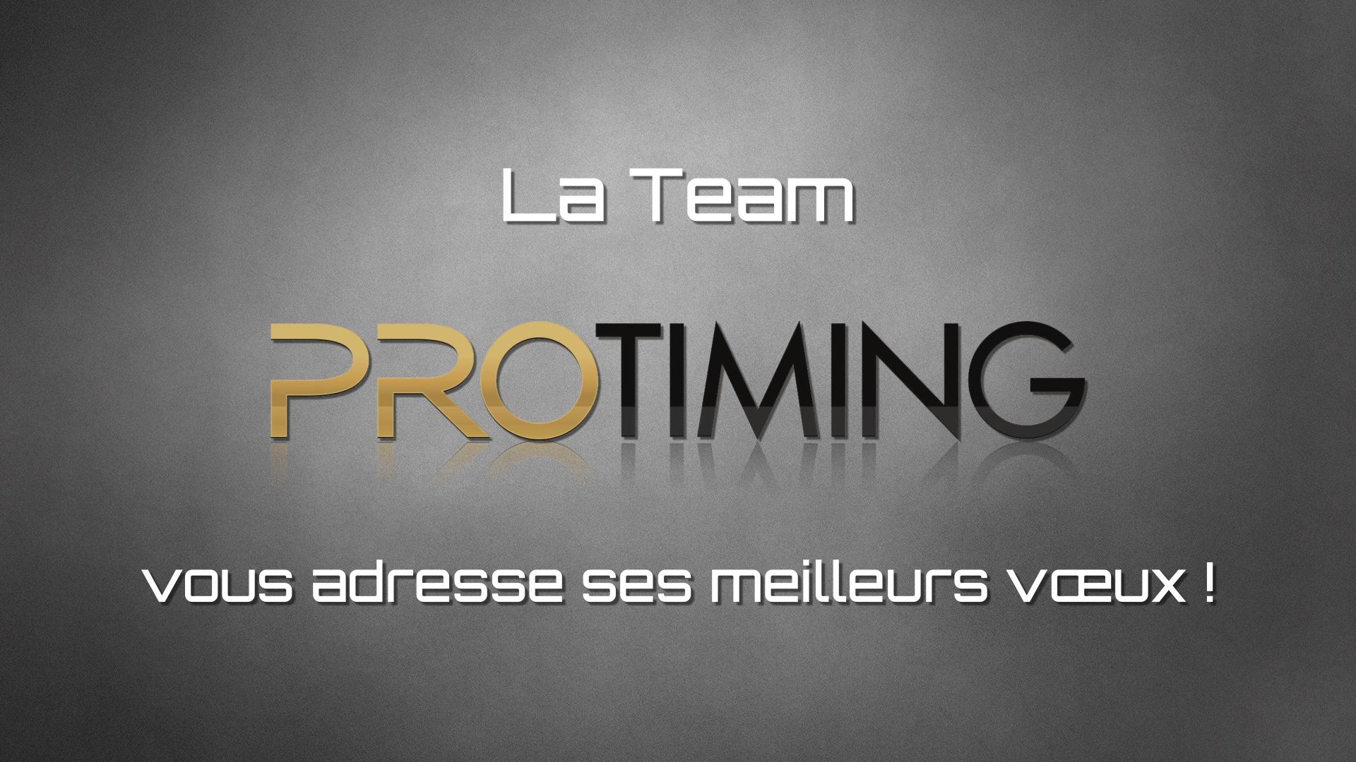 Protiming – Vidéo de vœux 2017