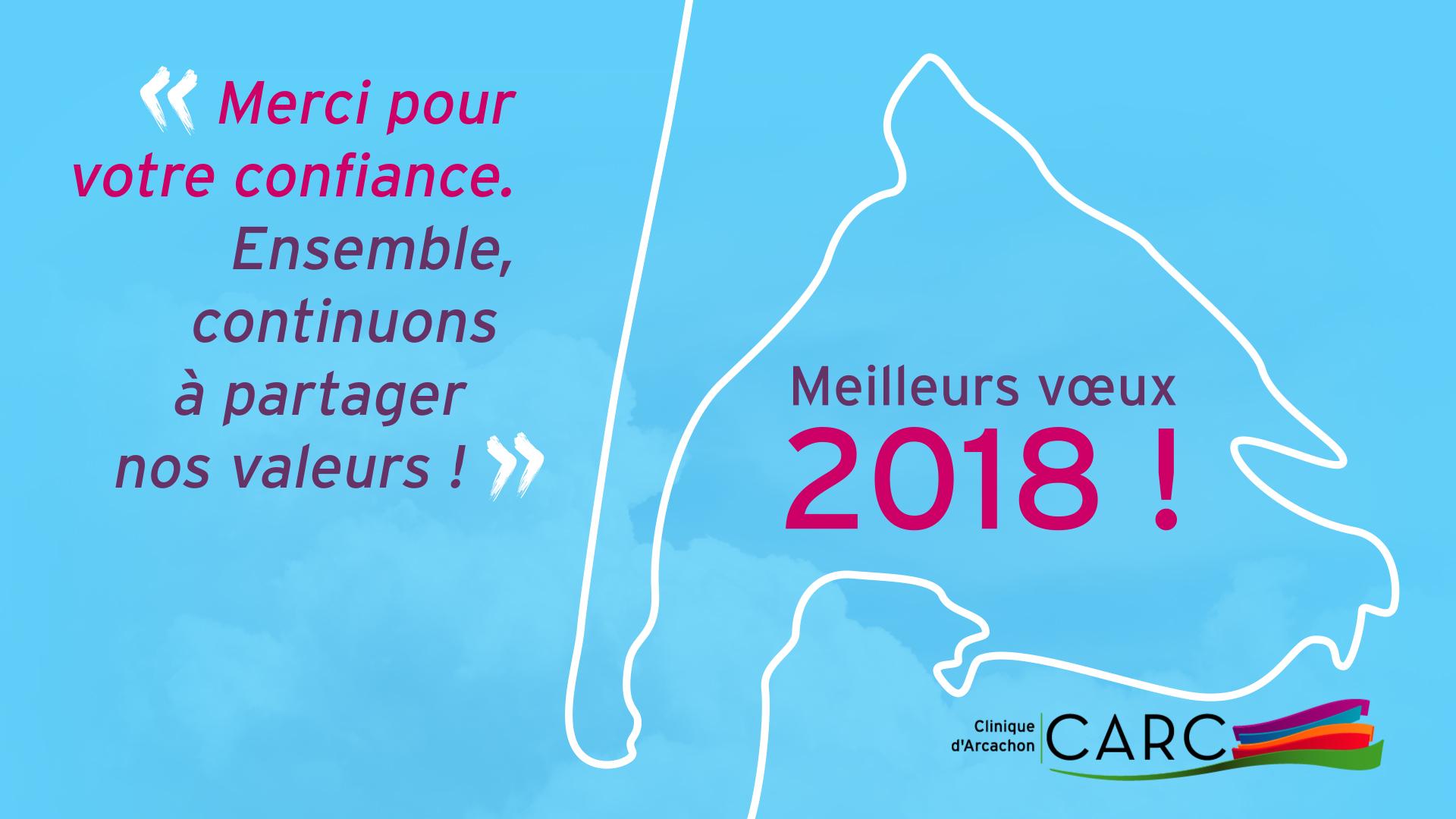 Clinique d'Arcachon – Vœux 2018