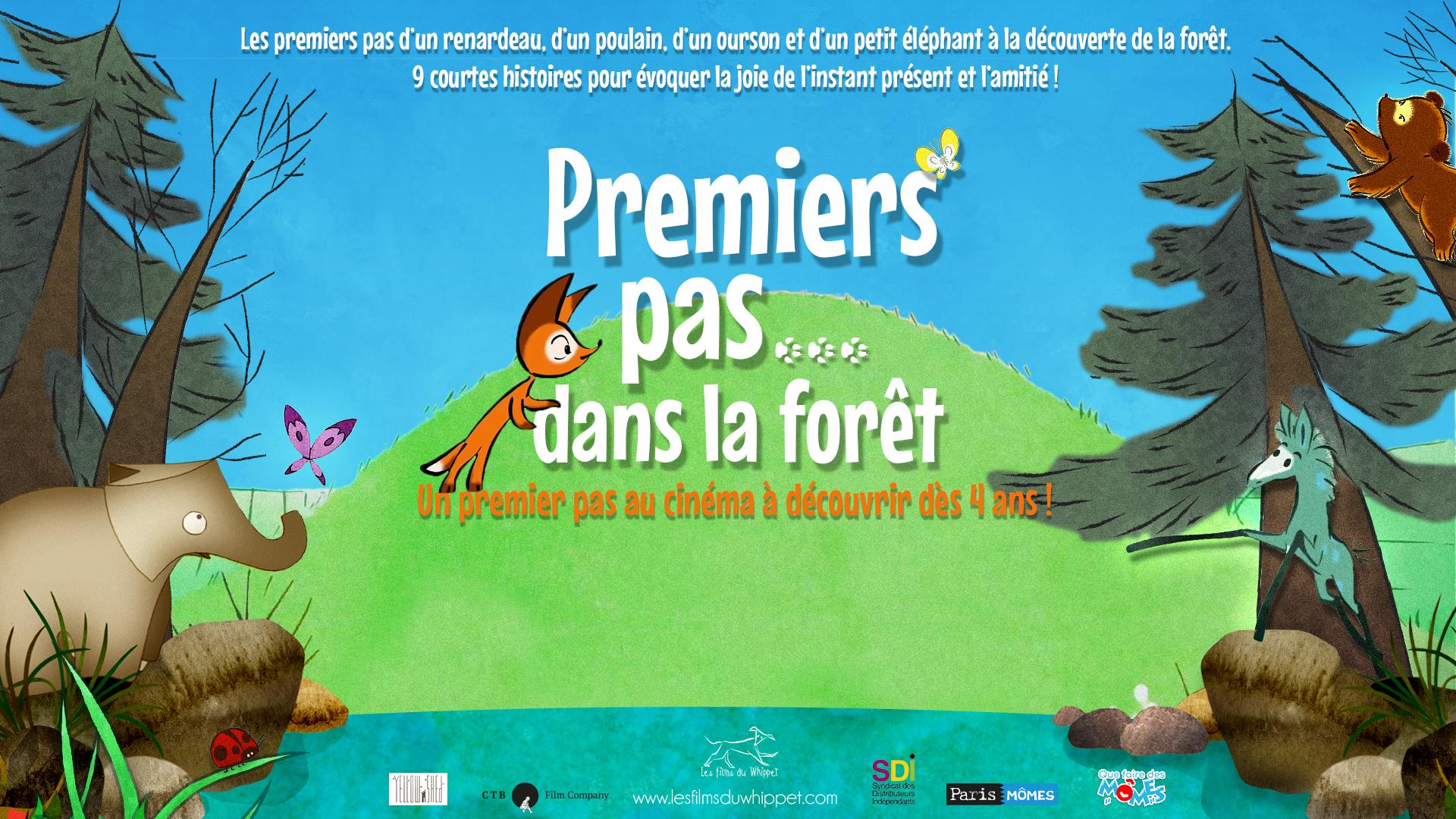 Les Films du Whippet – «Premiers pas… dans la forêt»