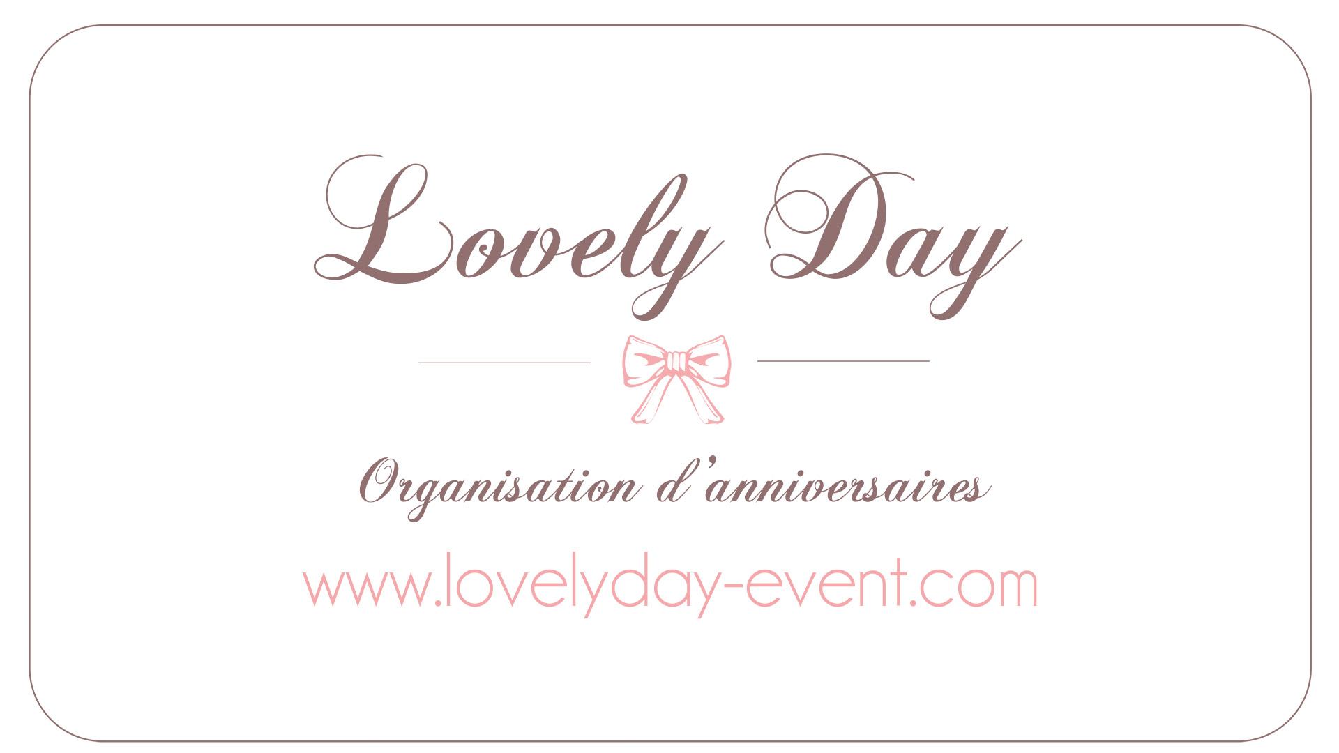 Lovely day – Organisation d'anniversaires